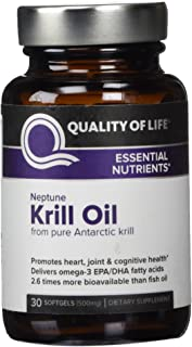 Neptune Krill Oil Quality of Life Labs 30 VCaps