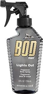 BOD مرد اسپری بدن عطر، چراغ، 8 سی سی اونس