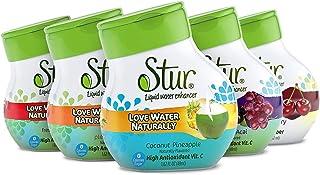 Stur - Summer Variety Pack, Natural Water Enhancer – Vitamin C High Antioxidant, Sugar Free, Zero Calories, Kosher, Keto F...