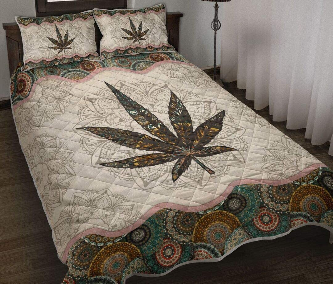 Personalized Cannabis Quilt Gift for Your to Birthday Long Beach Mall New product type So Lovers