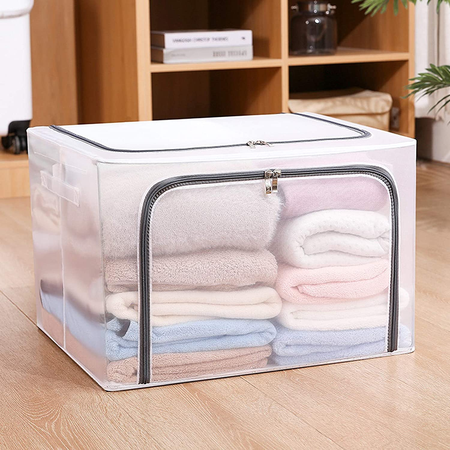 WLA Clothes Storage Challenge the lowest price of Japan Box Home Fabric Max 74% OFF Clothing Bag Transparen Toy