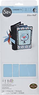Sizzix XL Scoreboards Die 660331, Passport Book by Eileen Hull, Multi Color, One Size,