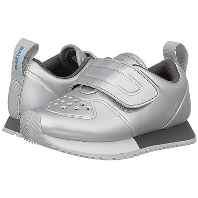 Native Kids Shoes Cornell HL Metallic (Toddler/Little Kid) (Silver Metallic/Shell White/Dublin Grey/Mist Rubber) Girls Shoes