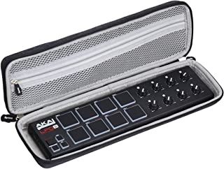 Aproca Hard Carry Travel Case for Akai Professional LPD8 Portable 8-Pad USB MIDI Pad Controller