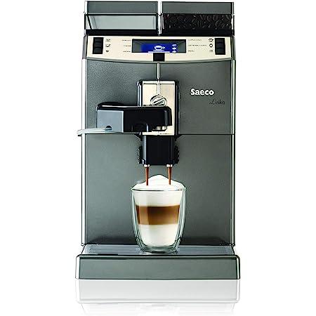 Saeco 10004768 Lirika OTC Espresso Maschine, 1850 W, 2 liters, Noir, Gris, Métallique
