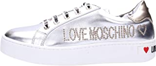 75dc5c1fe540dc Love Moschino Chaussures Femme Baskets avec Plateforme JA15243G17IC0902  Silver
