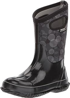 Bogs Kids Skipper Solid Boot /& Packable Umbrella rain boots Bundle