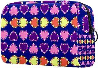 Hearts Makeup Bag Toiletry Bag for Women Skincare Cosmetic Handy Pouch Zipper Handbag