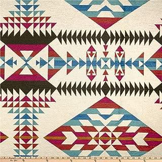 Artistry Navajo Southwest Uzumati Jacquard Fabric, Serape, Fabric By The Yard
