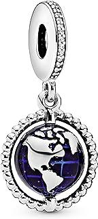 Pandora Womens 925 Sterling Silver Fashion Bracelet - 798021CZ, Color Silver, Size 10x17.3x14.5 mm