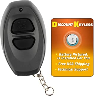 For 98-01 Toyota Keyless Entry Remote Key Fob Dealer Installed Systems RS3000 BAB237131-022, 08191-00922 - GREY