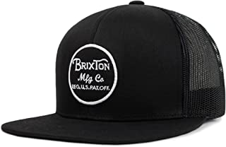 Brixton Men's Wheeler Medium Profile Adjustable Mesh Hat