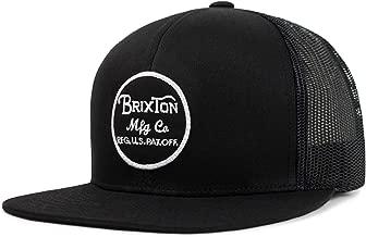 Brixton Men's Wheeler Medium Profile Adjustable Mesh Hat