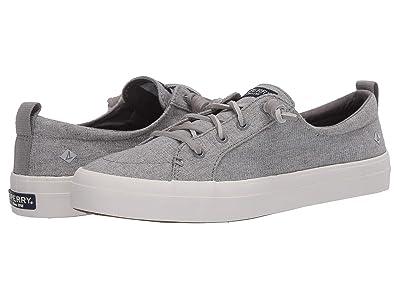 Sperry Crest Vibe Sparkle Linen (Grey) Women