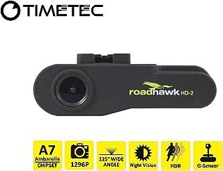 Timetec Road Hawk Car Driving Recorder 2K Super HD Car Vehicle Road Traffic Accident/Incident Dash Windshield Dashboard Video Audio Camera Recorder Camcorder DVR System(New Version Aug 2019)