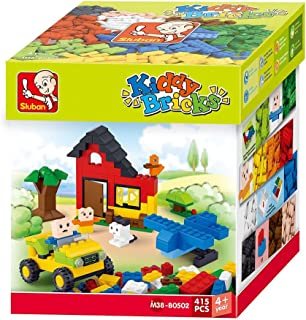 "Sluban Bricks Set ""Basic"" for boys Building Kit (415 Pieces)"