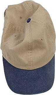 1910 Pigment Dyed Baseball Cap Khaki/Navy One Size