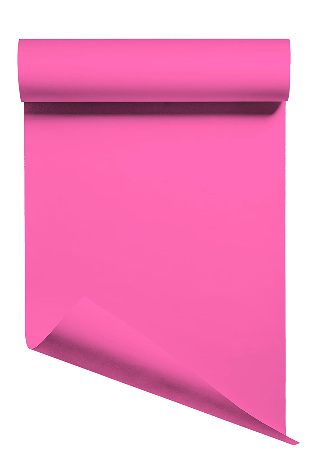 Heat Transfer Vinyl HTV/Iron-on 12 Inches by 3 Feet Roll (Pink)