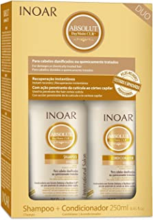 Kit Duo Shampoo e Condicionador DayMoist Ultra Hidratante com CLR, Inoar, 250 ml