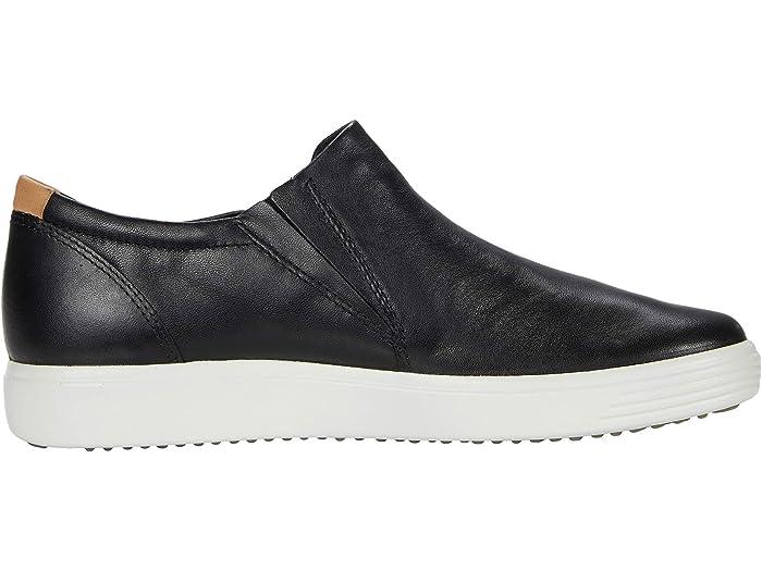ECCO Soft 7 Side-Zip Sneaker   Zappos.com