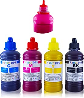 Dye Sublimation Ink for Epson Printer CISS Refill Cartridge Heat Transfer 400ml CMYK