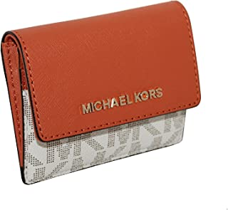 5c2a1a760ae8 MICHAEL Michael Kors Women s Jet Set Travel Card Case ID Key Holder Wallet