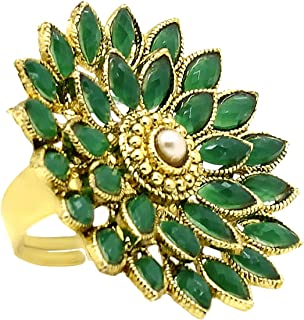 A.R. FASHION Ring For Women Stylish Adjustable 1 Pc - Traditional Ethnic Finger Ring