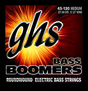 GHS BASS BOOMERS String Set For Electric Bass - 5-String - 5M-DYB - Medium - 045/130