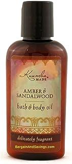 Kuumba Made Amber & Sandalwood Bath & Body Oil - 2 Oz