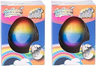 Class Collections Small Growing Unicorn Hatch Egg with Rainbow Shell Kids Novelty Toy- Pack of 2 [並行輸入品]