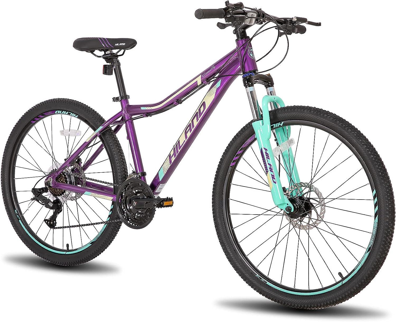 格安 価格交渉OK送料無料 価格でご提供いたします Hiland 26 27.5 Inch Mountain Bike D Frame Aluminum Speed Dual 24