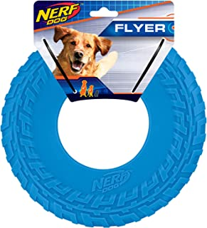 10in Tire Flyer: Blue, Dog Toy