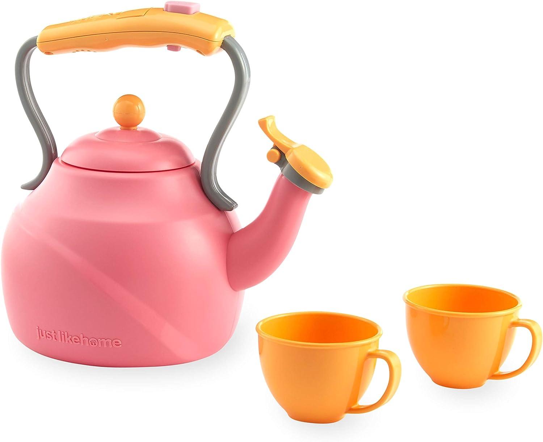 Just Like Home Tea Memphis Finally resale start Mall Pink Kettle