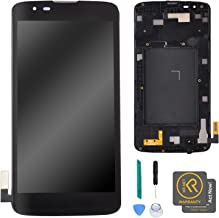 KR-NET [Black] LCD Display Digitizer Screen Replacement for LG K7 AS330 K330 MS330 / LG Tribute 5 LS675