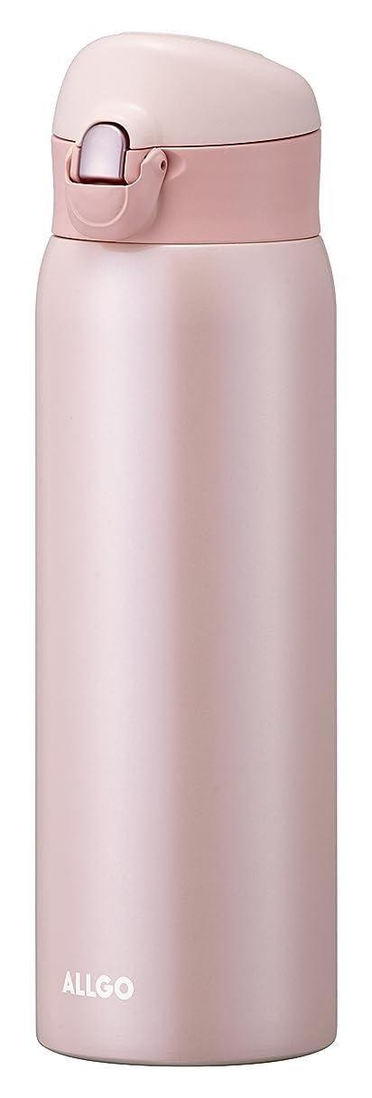 サイクル計算可能間違っているオルゴ ステンレスマグボトル ワンタッチ栓 500ml サクラピンク MBK-500-SP