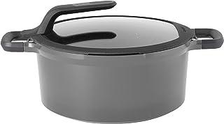 Faitout/Marmite en Fonte D'Aluminium avec couvercle Anti-Chaleur - 28 cm - Tous Feux Dont Induction - BergHOFF