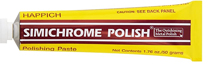 Simichrome Metal Polish - The best soft paste polish for Chrome, Silver, Aluminium, Brass and virtually any metal-: image