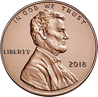 2018 P Bankroll of 50 - Lincoln Shield Cent Uncirculated