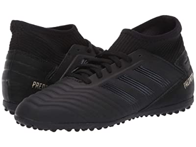 adidas Kids Predator 19.3 TF J Soccer (Little Kid/Big Kid) (Black/Gold Metallic) Kids Shoes