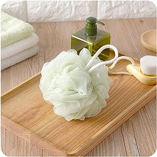 Cabilock 4pcs Soft Eco-Friendly Mesh Shower Pouf Bath Sponge Exfoliating Brush Shower Ball Bath Puff Body Scrubber Cleaning Accessory
