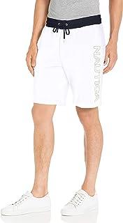 Nautica Men's Fleece Logo Shorts Casual