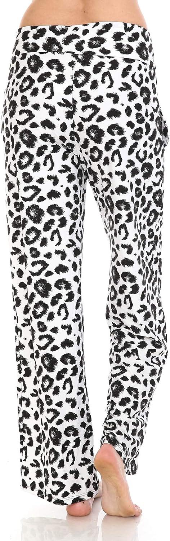 Leggings Depot Women's Popular Comfortable Casual Print Pajama Lounge Pants BAT2