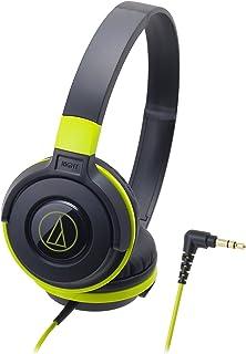 audio-technica STREET MONITORING sealed on-ear headphones Portable Black Green ATH-S100 BGR