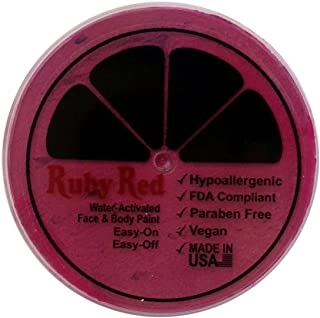Ruby Red Paint Face Paint, 75ML - Fuchsia