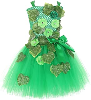 Tutu Dreams Ivy and Quinn Villain Costume for Girls 2-12Y Handmade Tutu Dress Vines and Leaves