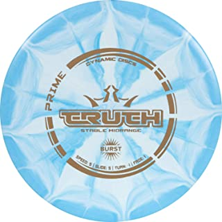 Dynamic Discs Prime Burst Truth Disc Golf Midrange | Stable Frisbee Golf Midrange | 173-176g | Versatile Golf Disc | Stamp...