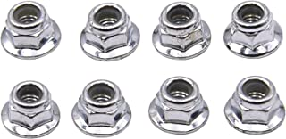 Blomiky 8 Pack 9125 Scew Lock nut 25-WJ02 Spare Part for 9125 9155 9156 RC Car RC Truck 9125 Locknut 2