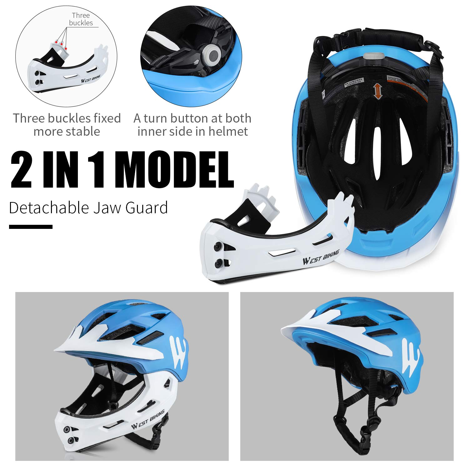 Details about  /WEST BIKING Bicycle Helmet Mountain Road Bike Sport Cycling Safety Helmets