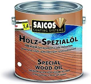 Saicos Colour GmbH 500 0118 Holzspezialöl, teak, 2,5 Liter