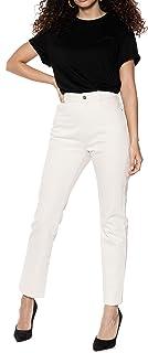 Ivy Revel DE Denim High Waist Jeans Vaqueros Straight para Mujer